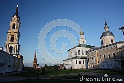 Russia, Kolomna. The Old-Golutvin monastery.