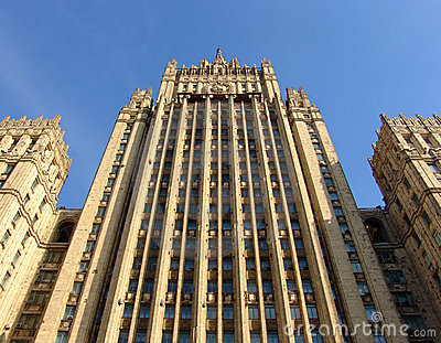 The Russia Ministry for Foreign Affairs