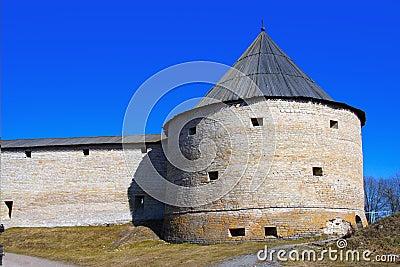 Russia. Old ladoga. Fortress.