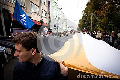 Russia Opposition Editorial Photography
