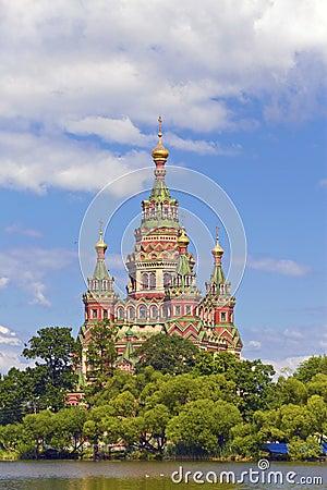 Russia, Peterhof the Church of St. Peter