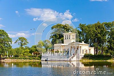 Russia, Peterhof Petrodvorets.Olga s Pavilion