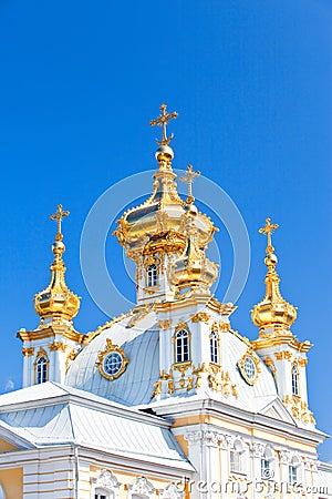 Russia, Petrodvorets-Peterhof Palace