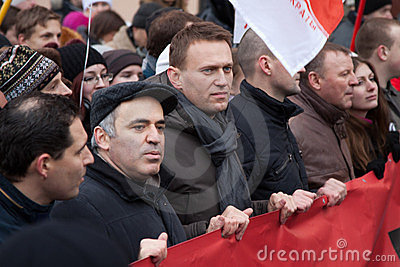 Russia protests Editorial Stock Photo