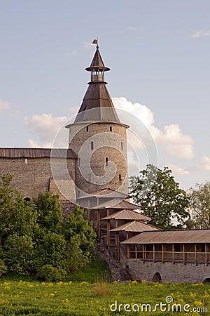 Free Russia. Pskov Kremlin (Krom) Royalty Free Stock Photo - 10694875