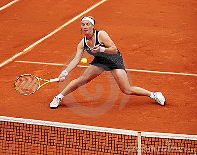 Russia s Svetlana Kuznetsova at Roland Garros Editorial Photography