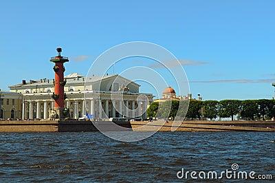 Russia, Saint-Petersburg, Arrow