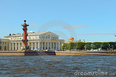 Russia, Saint-Petersburg, Arrow
