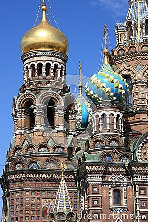 Russia Saint Petersburg, Resurrection of Christ
