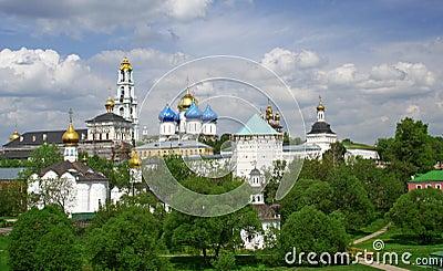 Russia. Sergiev Posad. Laurels