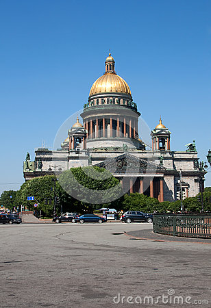 Free Russia. St. Isaac S Cathedral In St. Petersburg. Stock Photo - 37176710