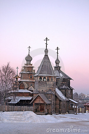 Russia. Suzdal. Winter
