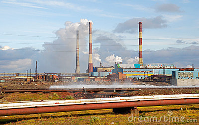Russia. Taimyr. Norilsk. Ecological disaster
