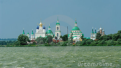 Russia. Town of Rostov the Great. Golden ring