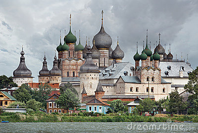 Russia. Town of Rostov the Great. Rostov Kremlin