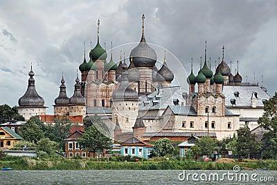 Russia. Town of Rostov the Great. Rostov Kremlin