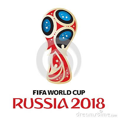 Russia world cup 2018 Vector Illustration