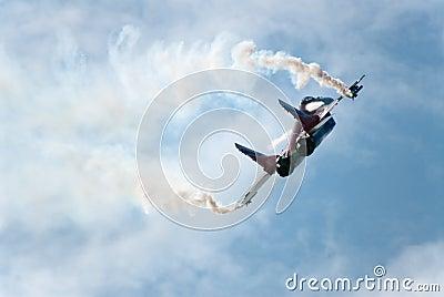 Russia. Zhukovski aviation salon. MAKS. MIG-29 OVT