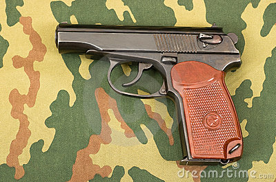 Russian 9mm handgun