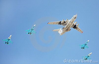 Russian Air Force airplanes