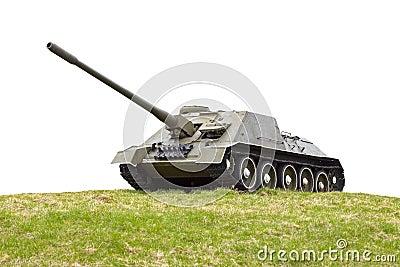 Russian ancient self-propelled artillery