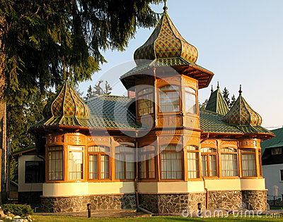 Russian architecture house