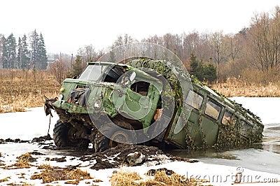 Russian army truck - GAZ-66