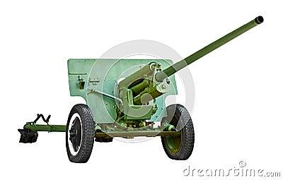 Russian artillery gun - World War II