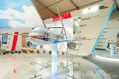 Russian Aviation Industry Editorial Image