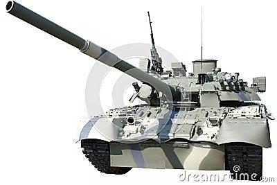 Russian battle tank T-80