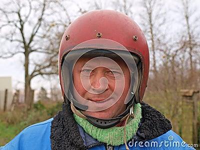 Russian biker