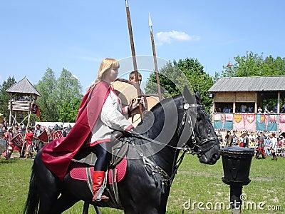 Russian Cavalry Editorial Image