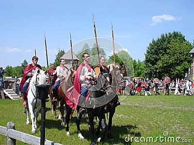 Russian Cavalry Editorial Stock Photo