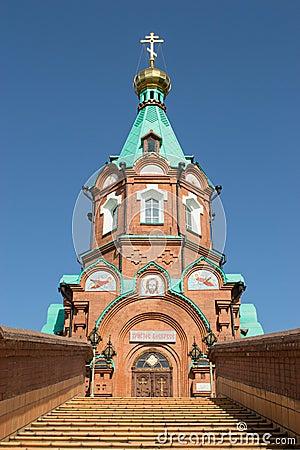 Free Russian Christian Church In Krasnoyarsk Royalty Free Stock Image - 40541626