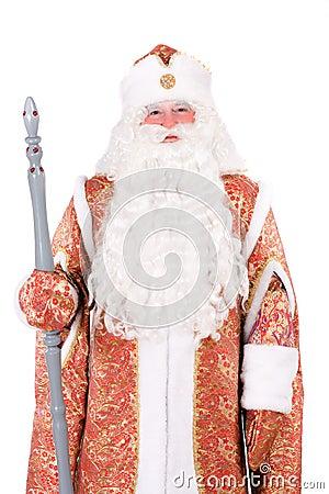 Russian Christmas character Ded Moroz
