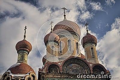 Russian church in Bucharest