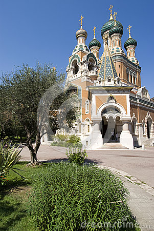 Russian Church in Nice