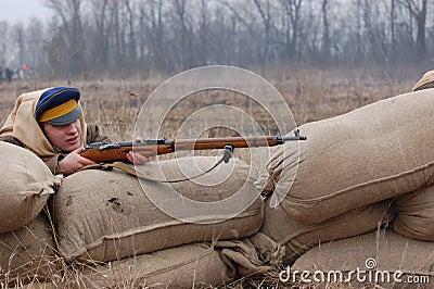 Russian Civil war 1918