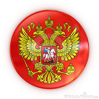 Russian coat of arms - badge