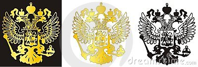 Russian coat of arms in vector