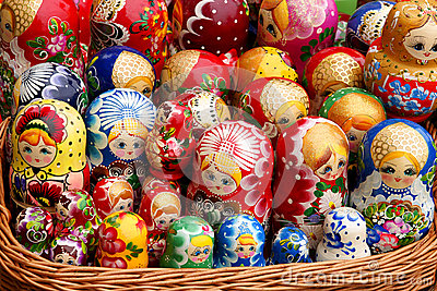 Russian doll Matryoshka family