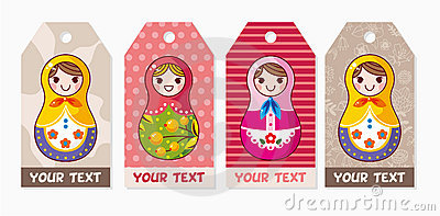 Russian dolls card