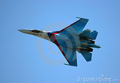 Russian fighter aircraft