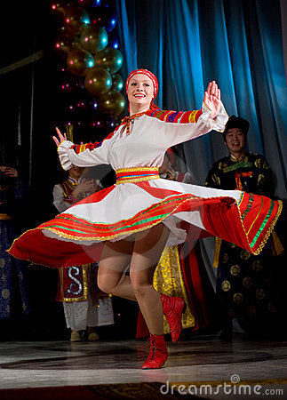 Russian folk dance Editorial Photography