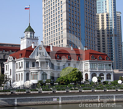 Russian general consulate in Shanghai, China