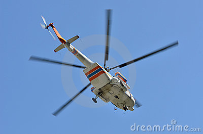 Russian helicopter Mi-17