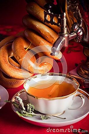 Russian herbal tea