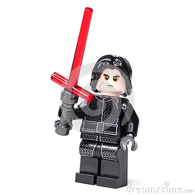 Free RUSSIAN, JANUARY 15, 2019. LEGO STAR WARS Kylo Ren Mini-figures Of Lego Star Wars Saga Royalty Free Stock Image - 136824176