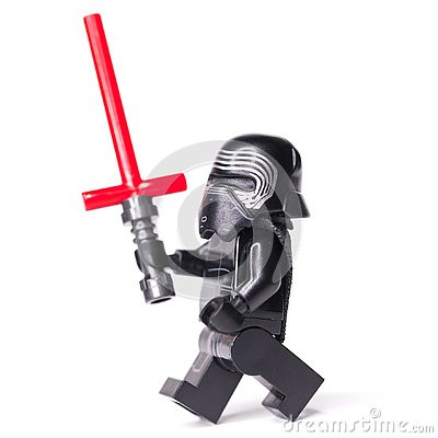 Free RUSSIAN, JANUARY 15, 2019. LEGO STAR WARS. Kylo Ren Mini-figures Of Lego Star Wars Saga Royalty Free Stock Photo - 136824245