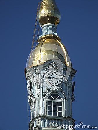 Russian landmark - clock tower